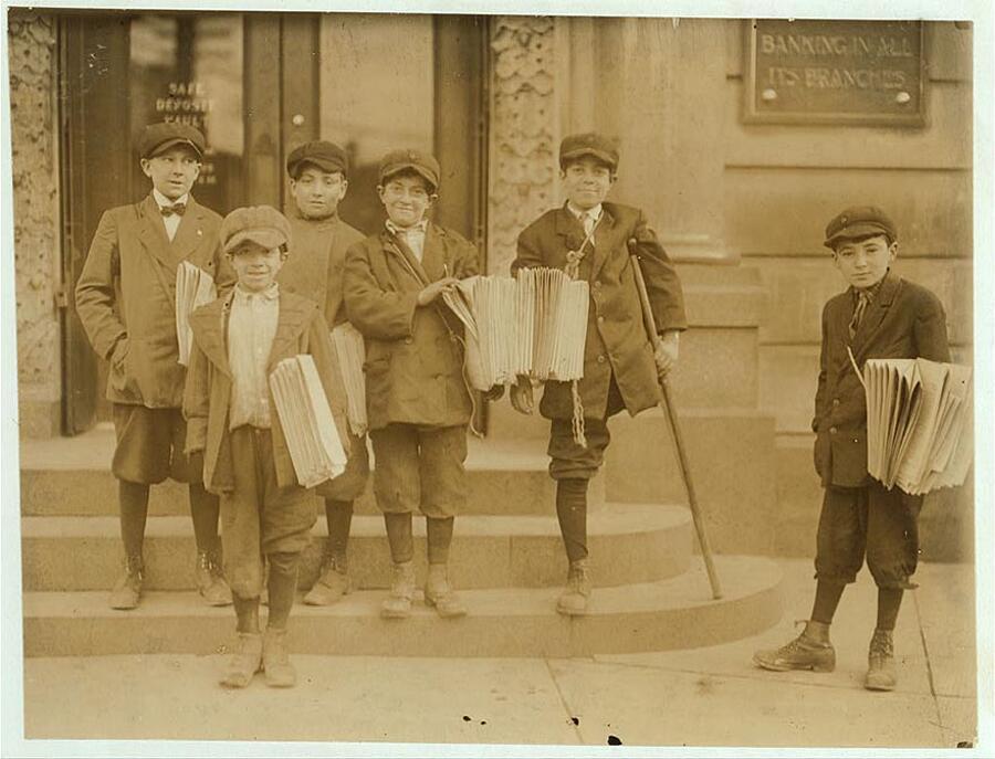 Lavoro minorile negli USA