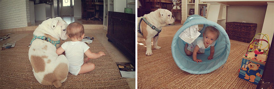 girl-english-bulldog-friendship-photography-lola-harper-rebe