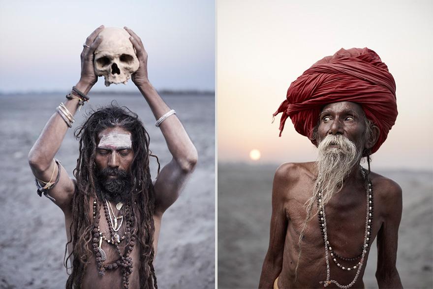 Ritratti Sublimi Di Santoni Indiani Del Fotografo Joey L