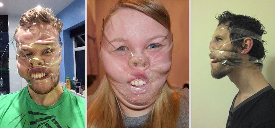 I selfie con il nastro adesivo la nuova moda dilaga su for Trova il mio sosia