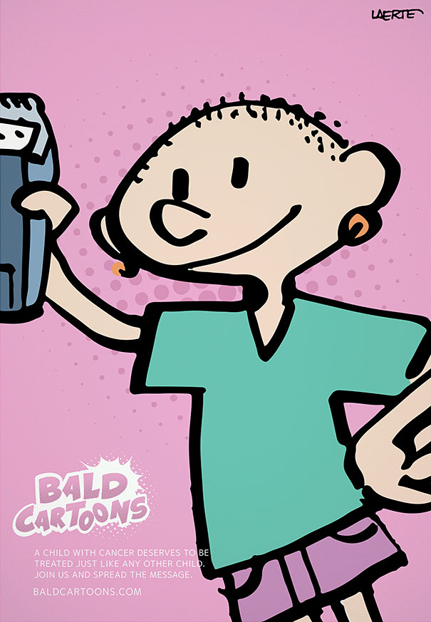 personaggi-cartoni-rasati-bambini-malati-cancro
