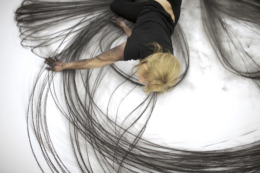 danza-contemporanea-disegni-carboncino