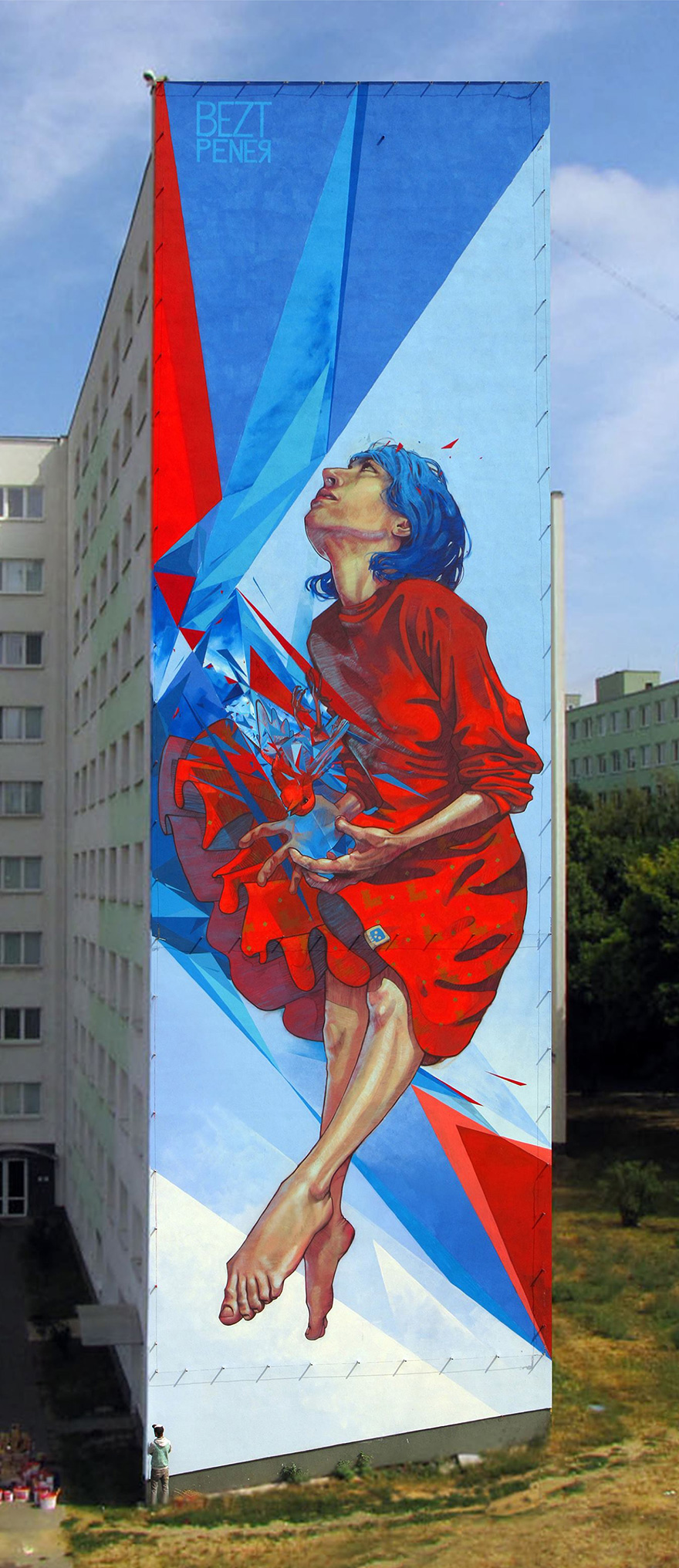 Da noiosi palazzi a straordinarie opere d 39 arte i murali murales di qu - Sculptures metalliques murales ...