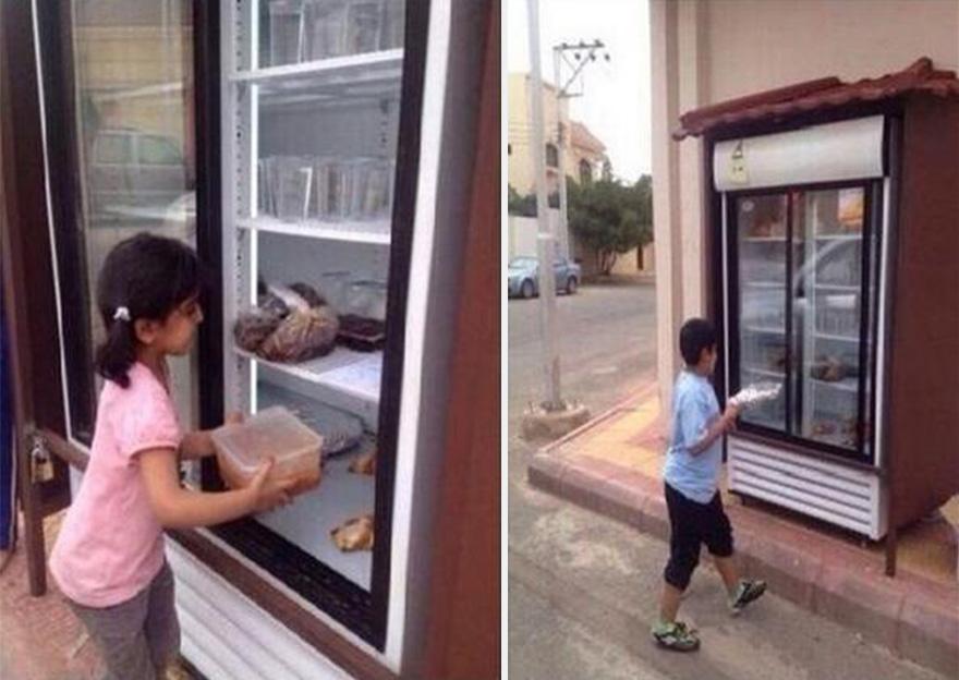 beneficenza-frigorifero-strada-arabia