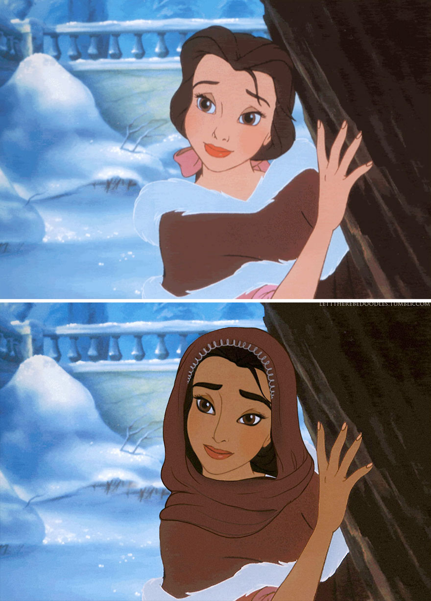 principesse-disney- diversa-etnia-razza