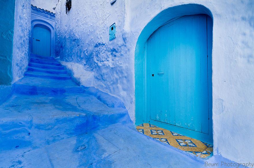 strade-blu-di-chefchaouen-marocco