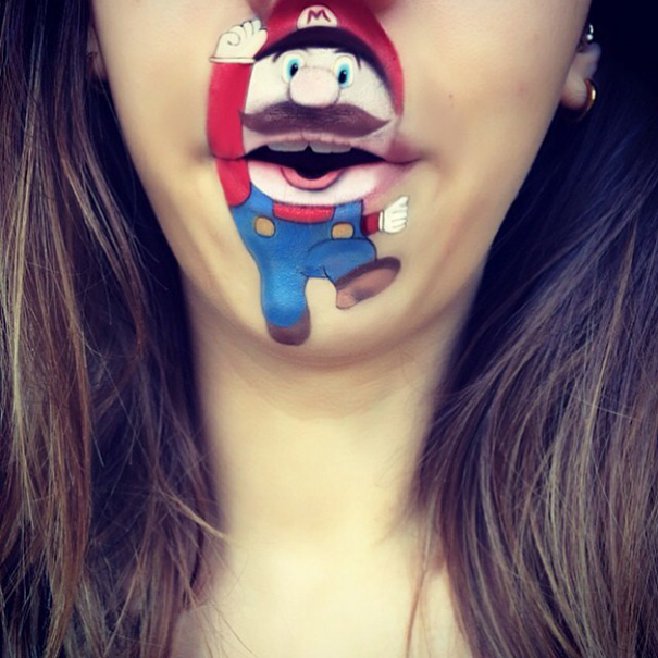 trucco-labbra-personaggi-cartoni