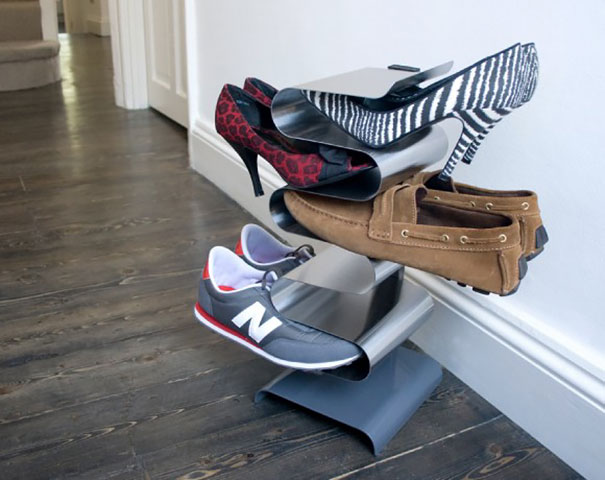 Mobili salvaspazio rack porta scarpe