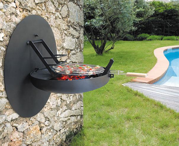 Mobili salvaspazio barbecue