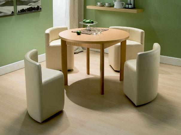Mobili salvaspazio tavolo sedie a scomparsa