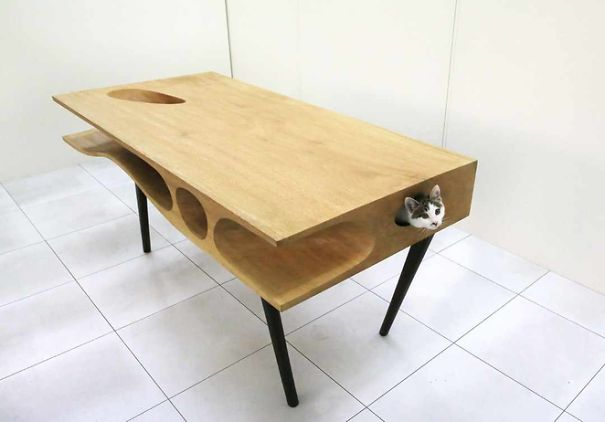 Mobili salvaspazio tavolo gatto