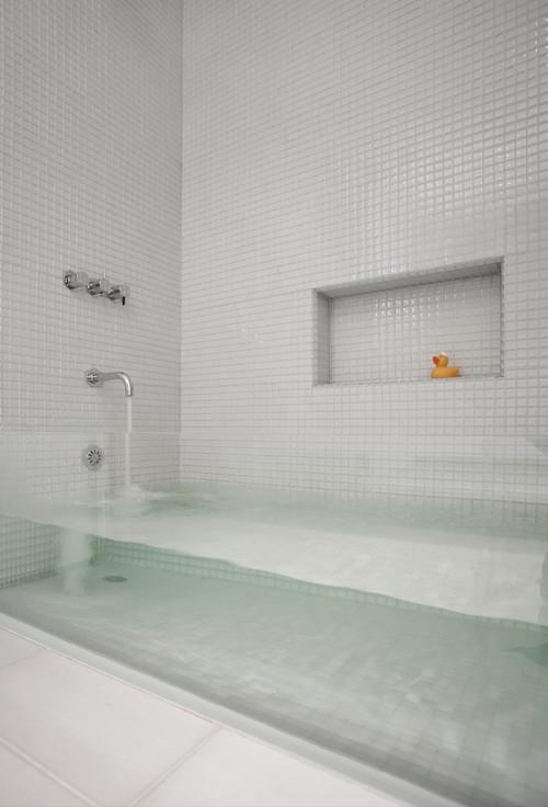 14 idee geniali per il design del bagno keblog for Design del bagno