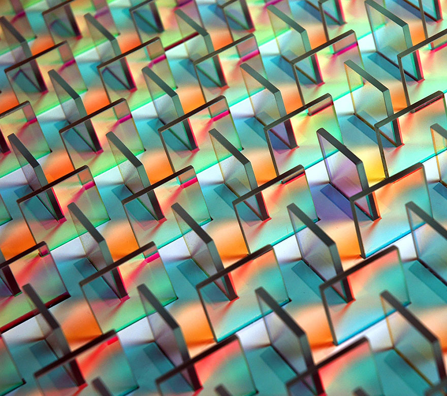 Installazioni Di Vetro Colorato Chris Wood