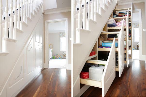 Idee geniali per risparmiare spazio nei piccoli appartamenti   keblog