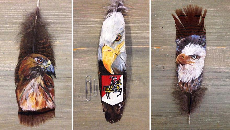 olio-acrilico-pittura-penne-piume-pappagallo-jamie-homeister18