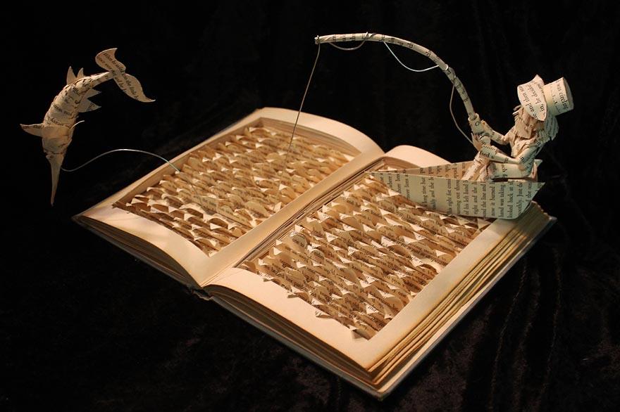 sculture-libri-carta-pagine-arte