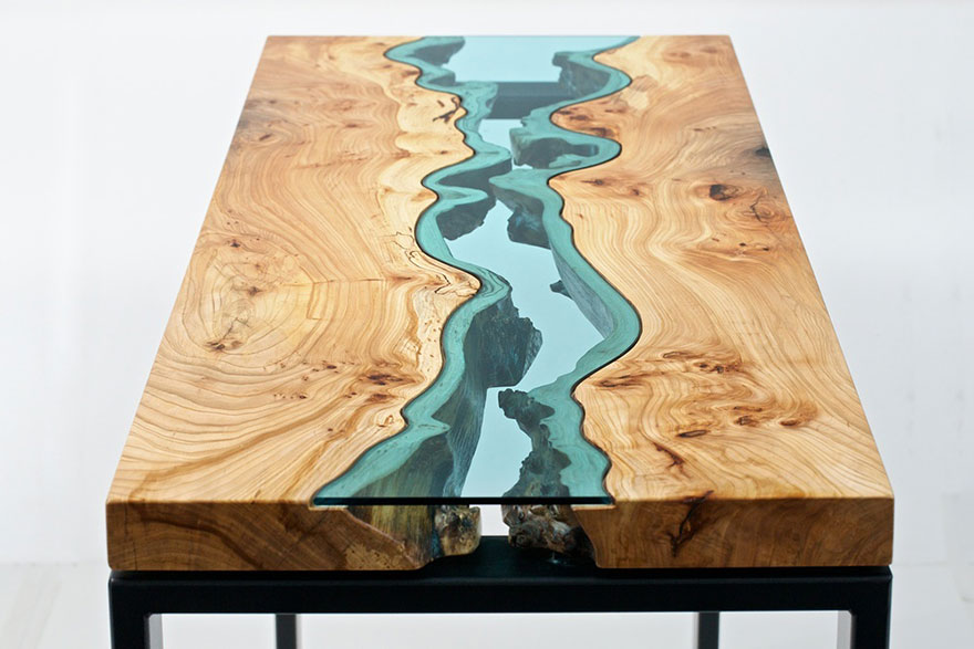 21 tavoli dal design straordinario e creativo, come opere d\'arte ...