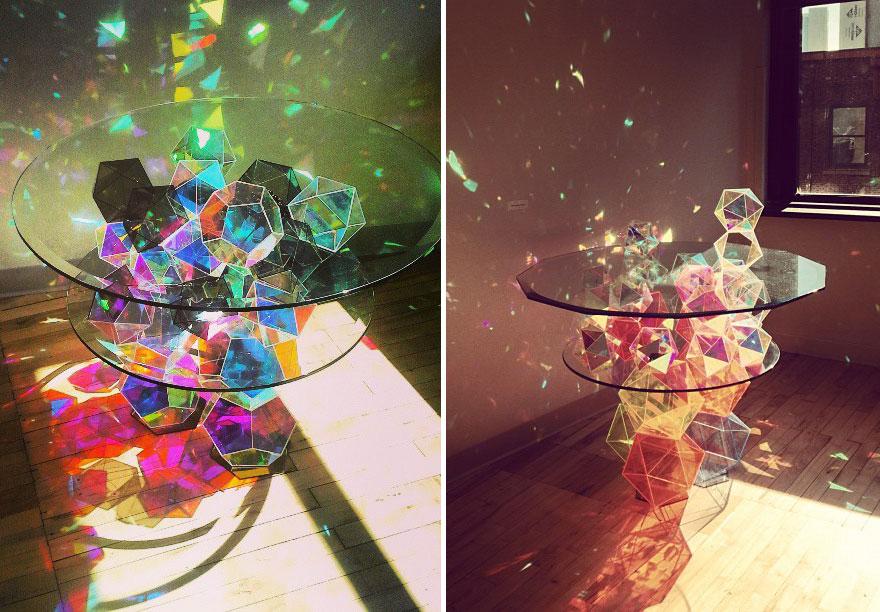 Tavoli dal design creativo e moderno