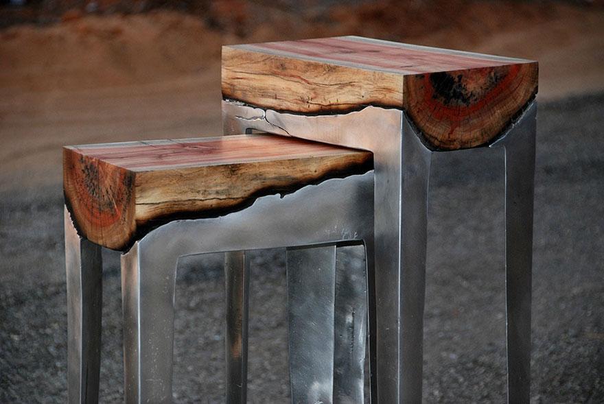Tavolo Design In Legno : Tavoli dal design straordinario e creativo come opere d arte