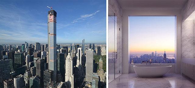 432 park avenue new york manhattan grattacielo for New york architettura contemporanea