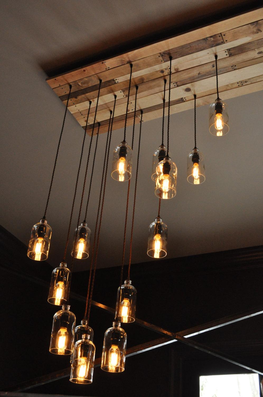 lampadari di plastica : lampadari-applique-lampade-creativi-post-industriale-bottiglie ...