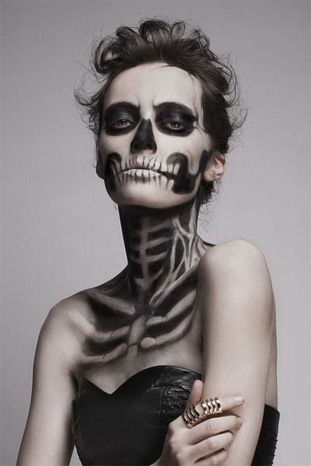 20 tra le pi terrificanti idee di maschere di Halloween - Make Up Fr Halloween