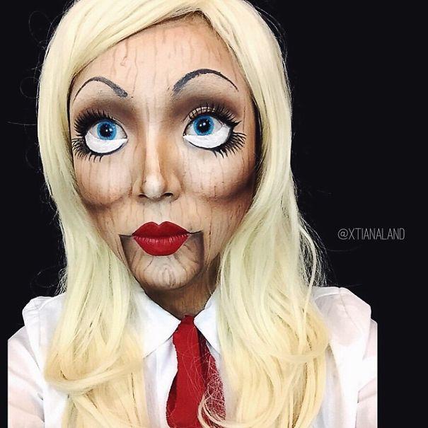 Maschera trucco make up halloween idee 20 KEBLOG