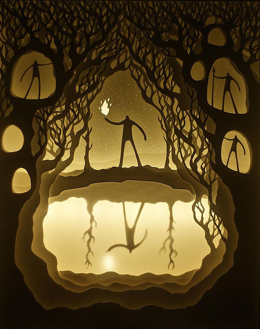 sculture-arte-carta-luminose-ombre-hari-deepti-02