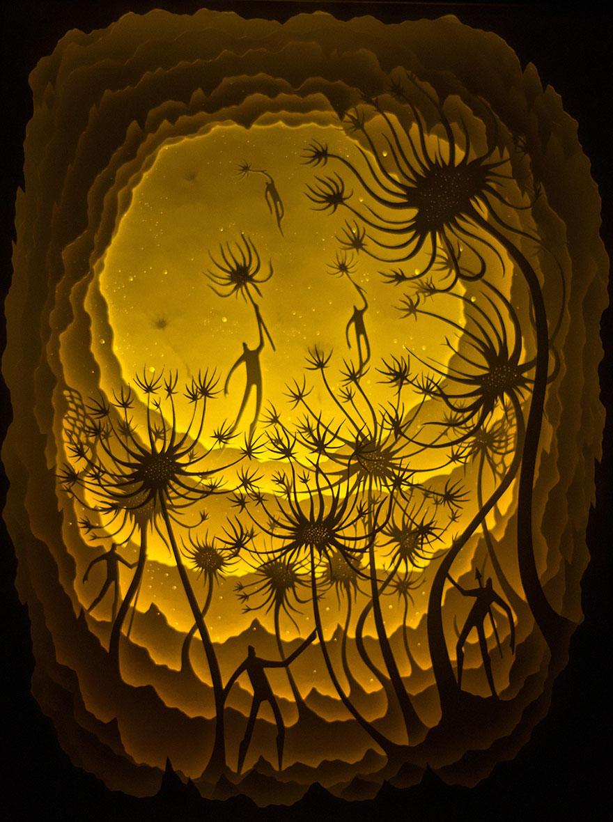 sculture-arte-carta-luminose-ombre-hari-deepti-03
