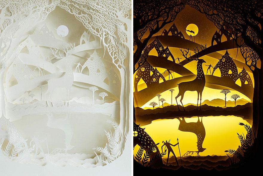 sculture-arte-carta-luminose-ombre-hari-deepti-11