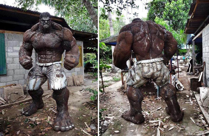 sculture-personaggi-film-metallo-scarto-hulk-ban-hun-lek-01