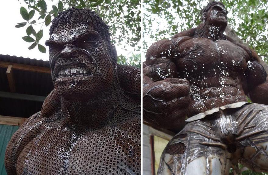 sculture-personaggi-film-metallo-scarto-hulk-ban-hun-lek-09