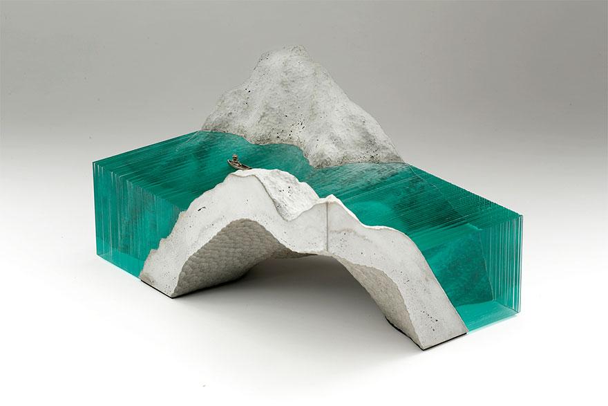 sculture-vetro-strati-onde-mare-ben-young-15