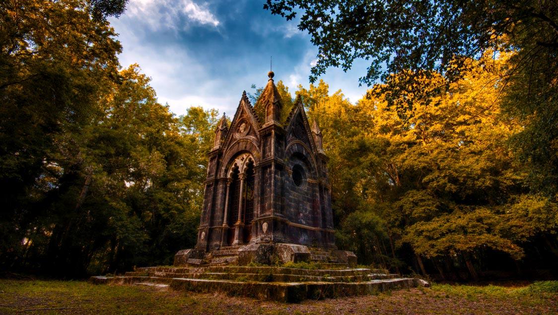 20 luoghi incantati e da favola in Italia, 20 luoghi incantati e da favola in Italia, Bosco Monumentale del Sasseto, Lazio