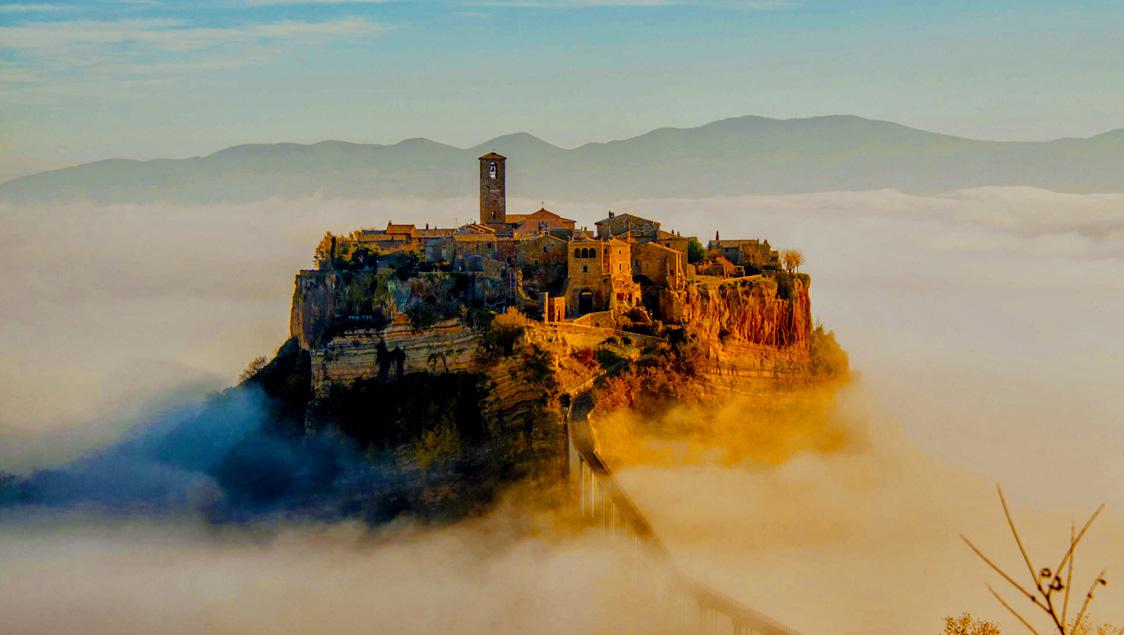 20 luoghi incantati e da favola in Italia, Civita di Bagnoregio, Viterbo, Lazio