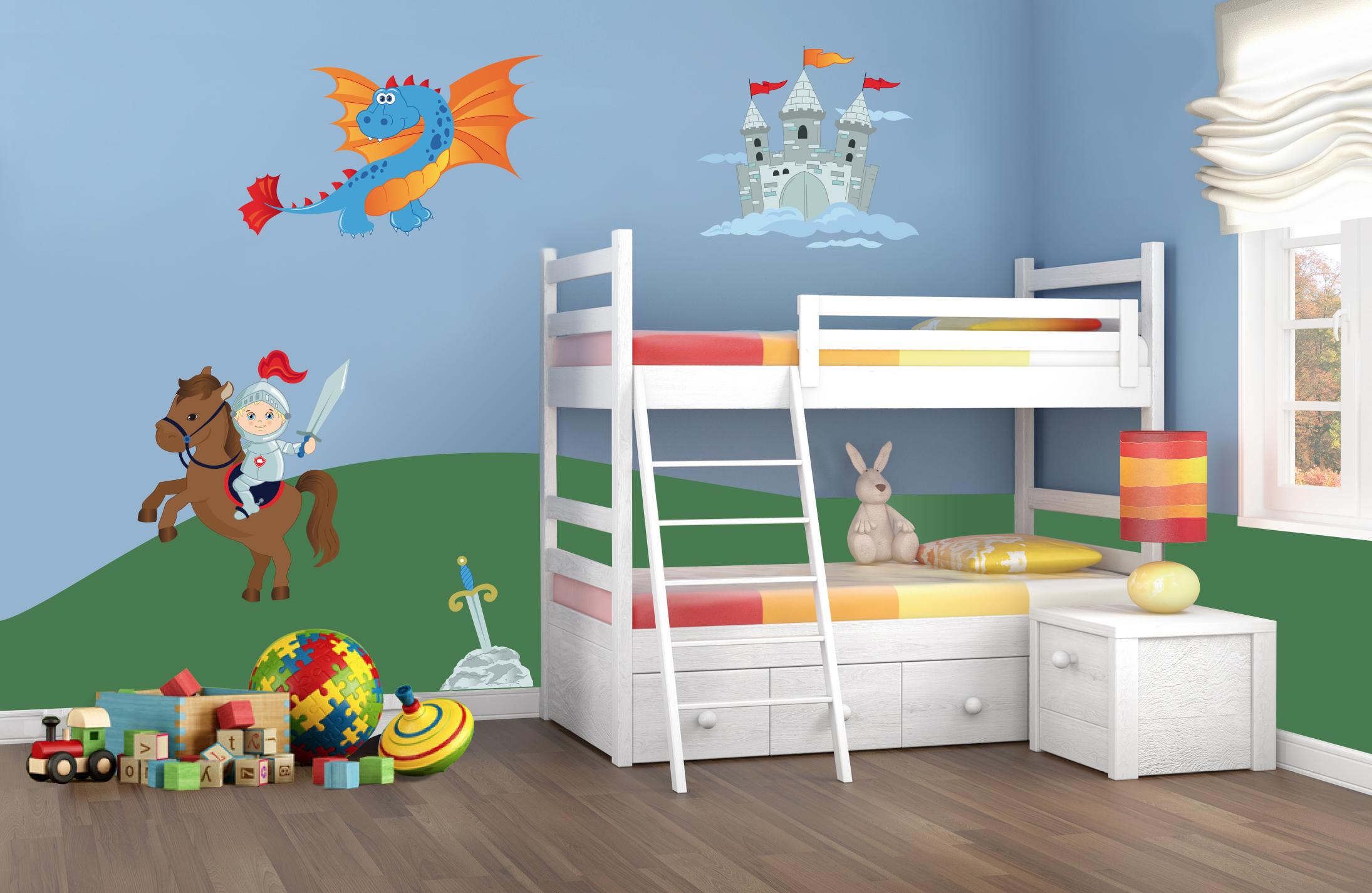 Adesivi per pareti camerette adesivi murali per bambini for Adesivi x pareti