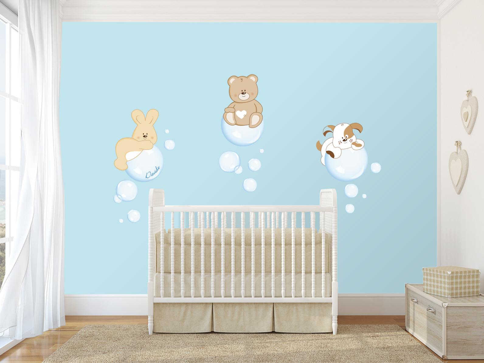 Decorazioni per cameretta dei bambini: decorazioni a muro per la ...