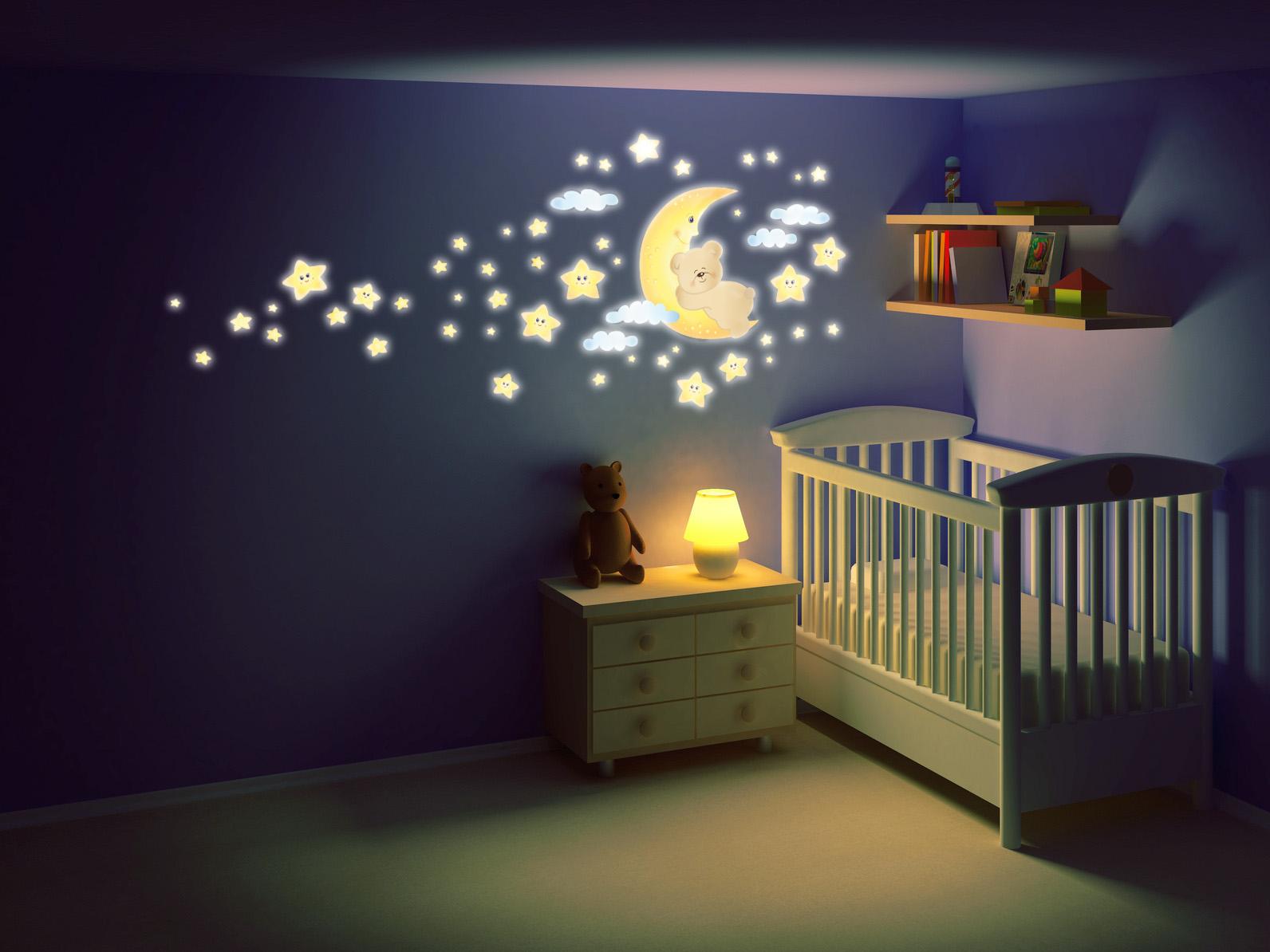 idee per decorare pareti camerette: camerette per bambini winx ... - Decorazioni Pareti Orsetti