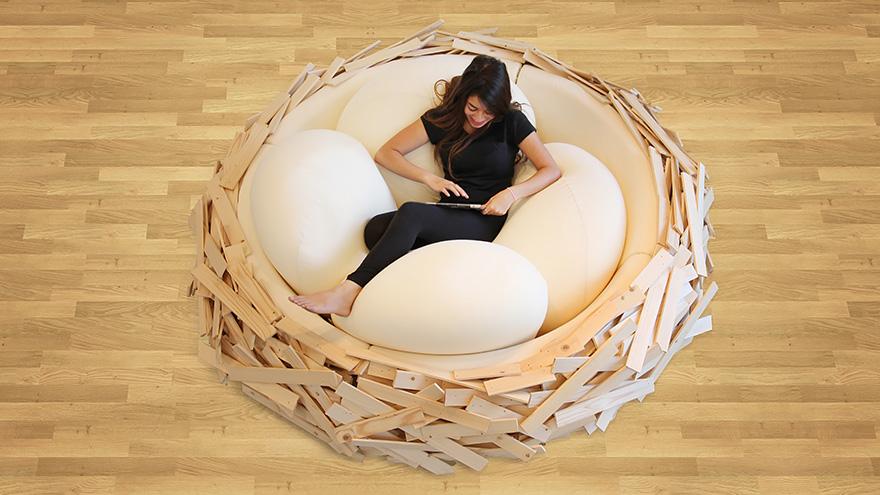 letto-design-nido-gigante-uccello-uova-oge-5