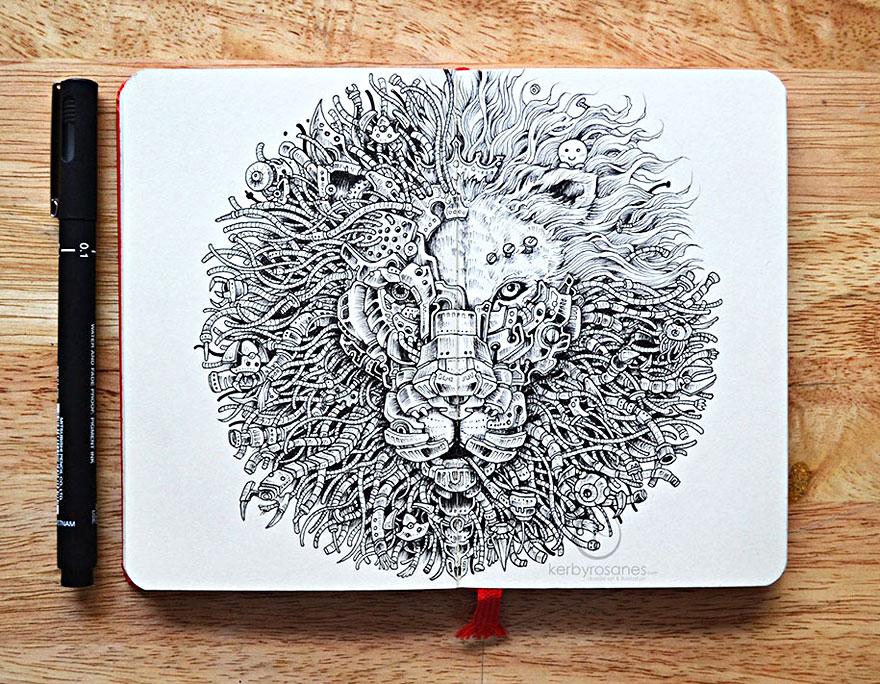 scarabocchi-disegni-dettagliati-penna-kerby-rosanes-02