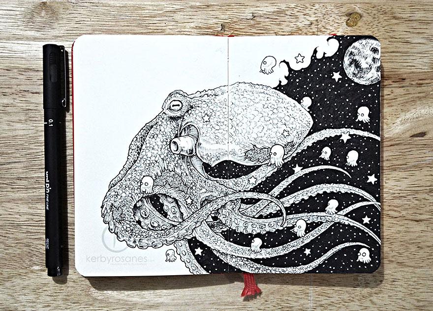 scarabocchi-disegni-dettagliati-penna-kerby-rosanes-06