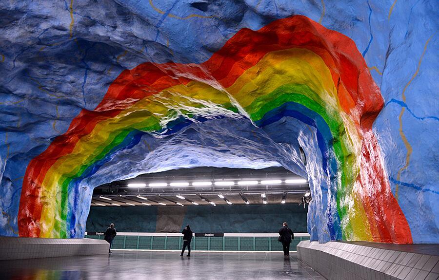 Stazione Stadion, Stoccolma, Svezia