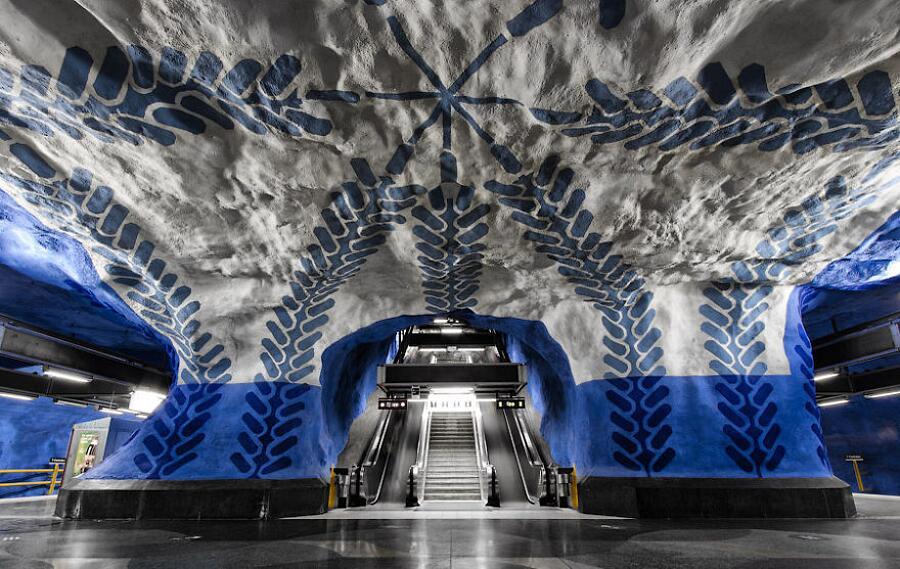 T-Centralen Station, Stoccolma, Svezia