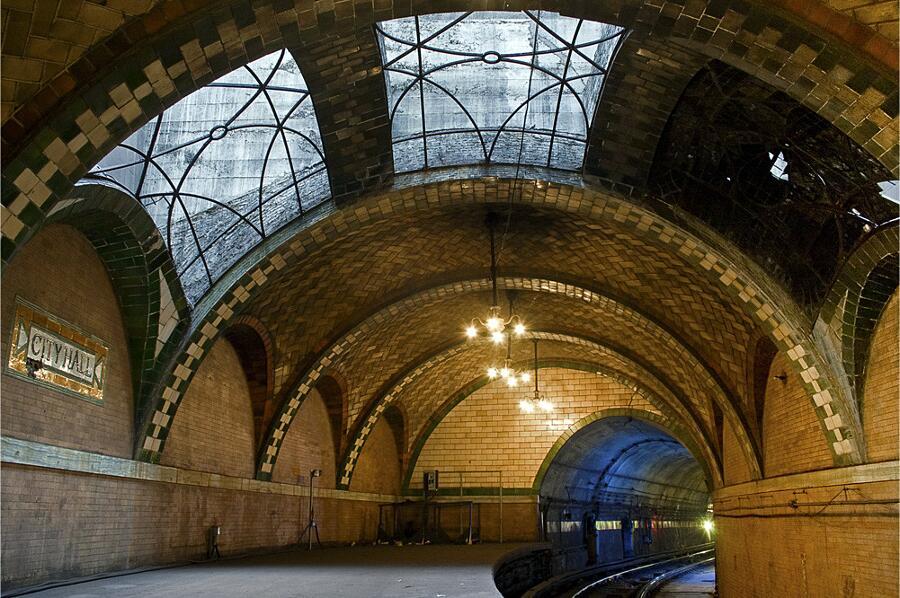 Stazione metropolitana City Hall Station, New York