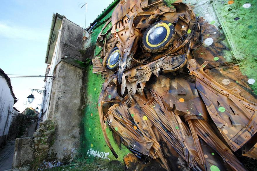 street-art-scultura-rifiuti-riciclati-gufo-artur-bordalo-4