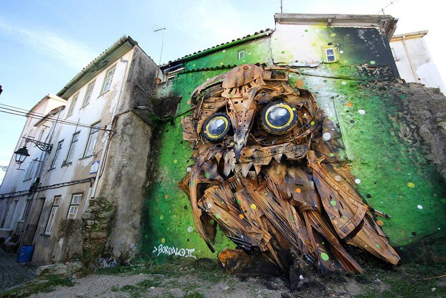 street-art-scultura-rifiuti-riciclati-gufo-artur-bordalo-5
