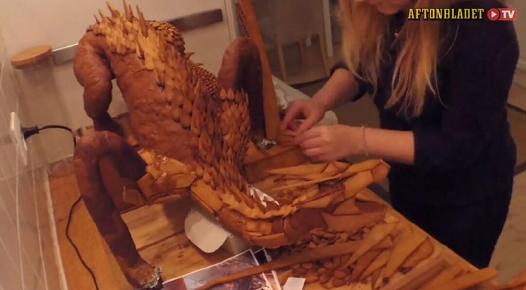 artista-svedese-drago-smaug-hobbit-pan-di-zenzero-pepato-5