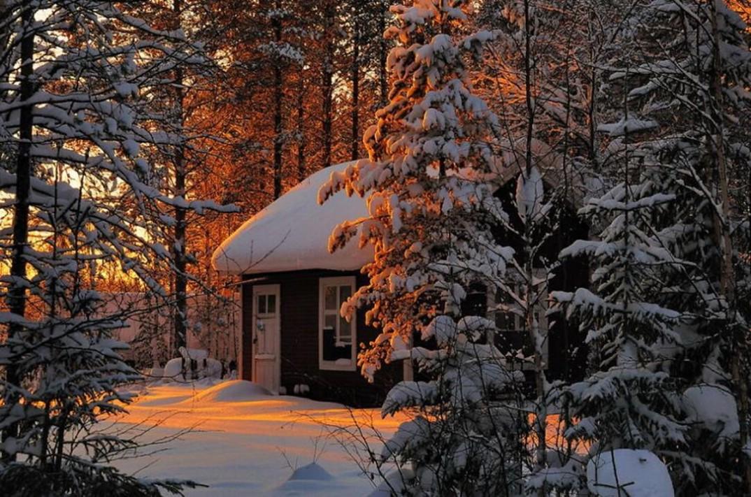 20 case solitarie nel mezzo di maestosi paesaggi invernali for Immagini case