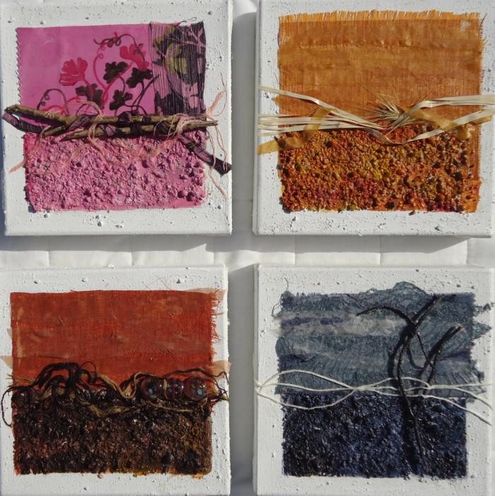 Quadri materico/emozionali, pittura astratta contemporanea - KEBLOG