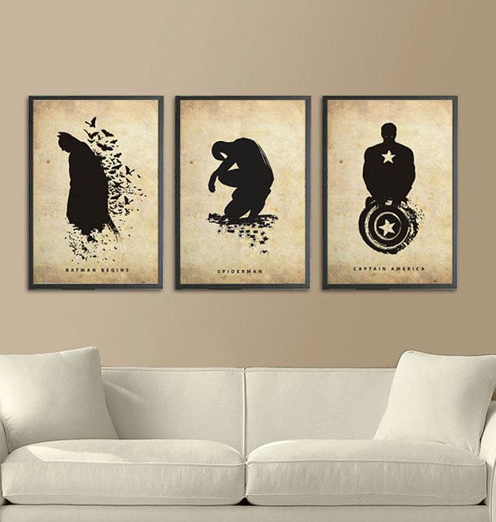poster-creativi-artistici-supeperoi-batman-spiderman-hulk-capitan-america-15